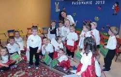Pasowanie na przedszkolaka 2013 - Biedronki
