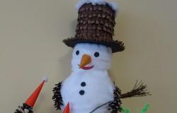Biedroneczki w zimowej odsłonie